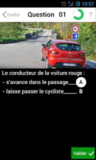 Code de la route 2018 Permisécole screenshot 1