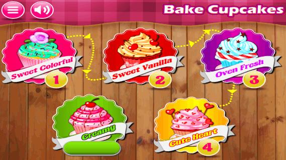 Cooking Game - Baking Cupcakes screenshot 1