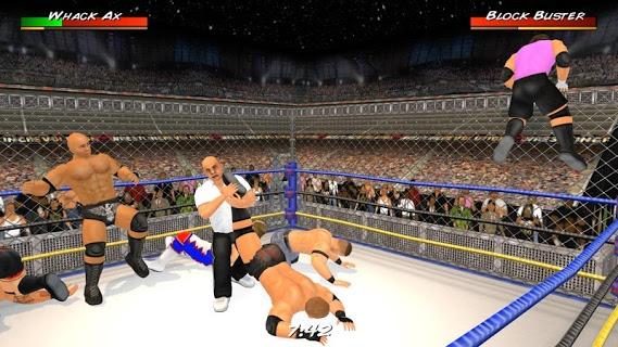 Wrestling Revolution 3D screenshot 1