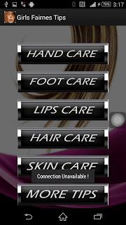 Girl's Fairness Tips screenshot 2