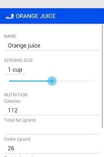 Food Journal APK screenshot 1