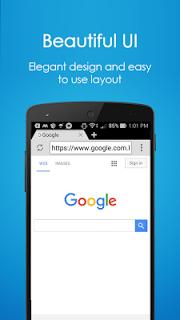 Browser 4G screenshot 1