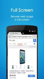 Browser 4G screenshot 2