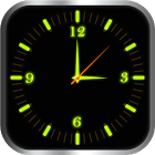 Glowing Clock Locker app