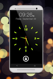 Glowing Clock Locker screenshot 1