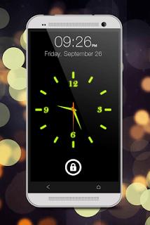 Glowing Clock Locker - Green screenshot 1