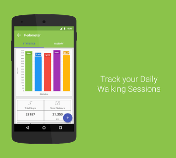 Health Pal - Fitness, Weight loss coach, Pedometer screenshot 2