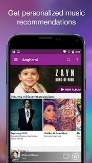 Anghami Unlimited Music pc screenshot 1