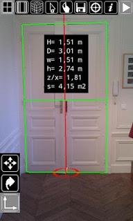 3D measurement app - Plumb-bob screenshot 2