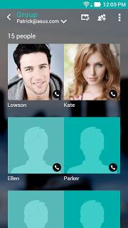 Zenui Dialer & Contacts APK screenshot 1