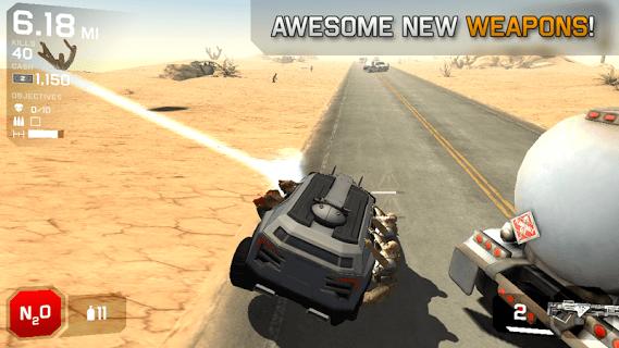 Zombie Highway 2 screenshot 2