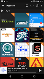 Podcast & Radio Addict screenshot 1