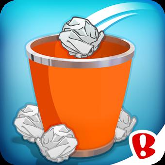 Paper Toss app