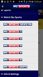 Sky Sports For Android pc screenshot 1