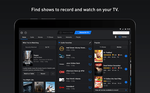 Directv For Tablets APK screenshot 1