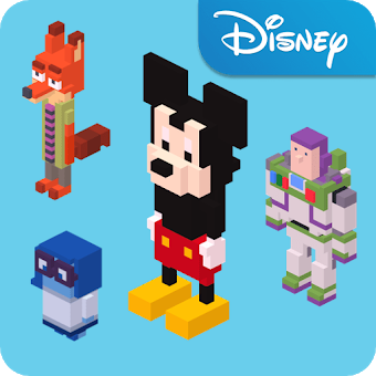 Disney Crossy Road app