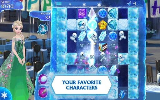 Frozen Free Fall screenshot 2