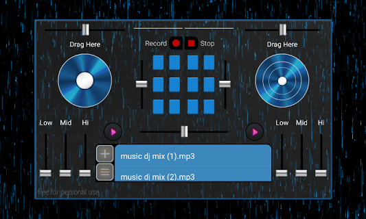 Dj Player Mixer pc screenshot 1