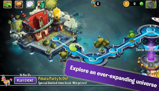 Plants Vs. Zombies 2 screenshot 2