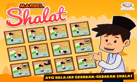 Marbel Belajar Shalat + Audio screenshot 2