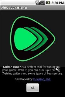 Guitar Tuner APK screenshot 1