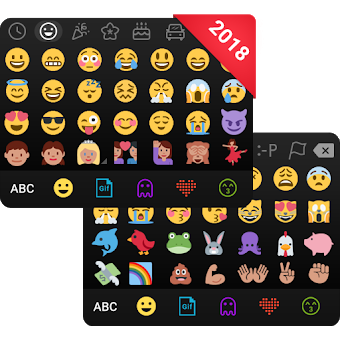 Emoji keyboard - Cute Emoticons, GIF, Stickers app