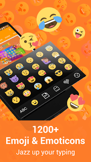 Kika Emoji Keyboard Pro screenshot 1