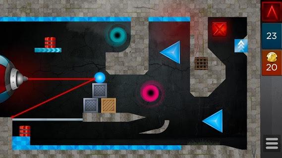Laserbreak Lite Physics Puzzle screenshot 2