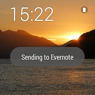 Evernote For Android Wear screenshot 2