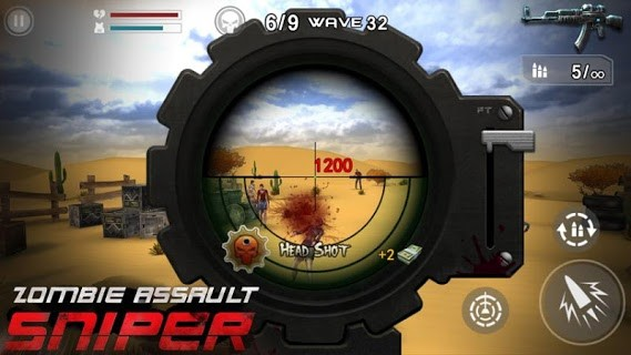 Zombie Assault screenshot 2