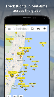 Flightradar24 screenshot 1