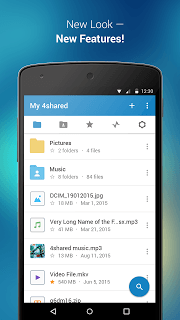 4shared APK screenshot 1