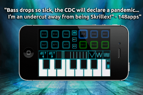 Bass Drop Dubstep  APK screenshot 1