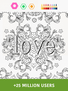 Colorfy: Coloring Book for Adults - Free screenshot 2