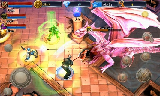 Dungeon Hunter 3 screenshot 1