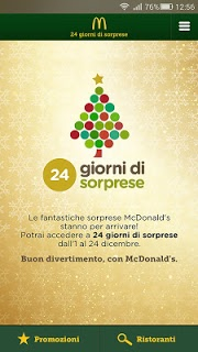Mcdonald's Italia APK screenshot 1