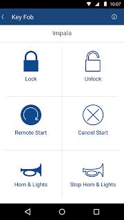 Onstar Remotelink screenshot 2
