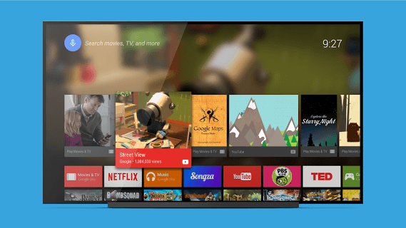 Android Tv Launcher screenshot 1