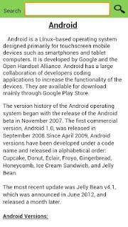 Updates for Android (info) - OS Andriod Update screenshot 2