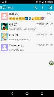 Handcent Emoji screenshot 1