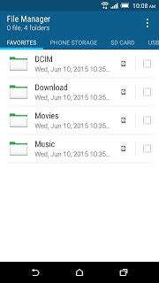 Htc File Manager pc screenshot 1
