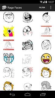 Rage Faces screenshot 1