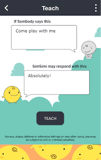 SimSimi screenshot 2