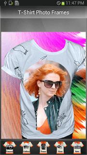 T-Shirt Photo Frames screenshot 2