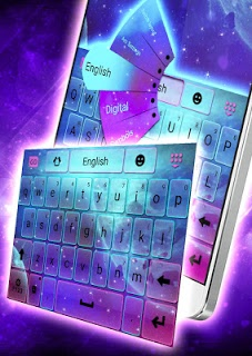 Galaxy Keyboard screenshot 1