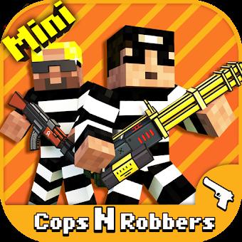 Cops N Robbers - FPS Mini Game app
