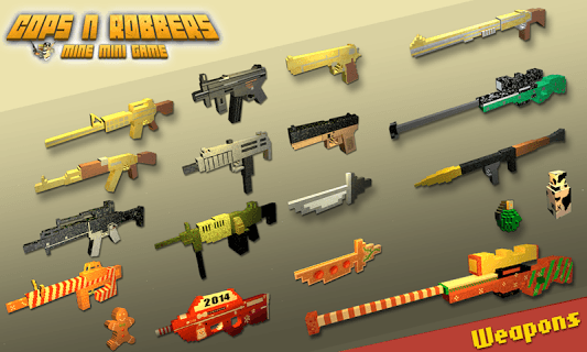 Cops N Robbers - FPS Mini Game screenshot 2