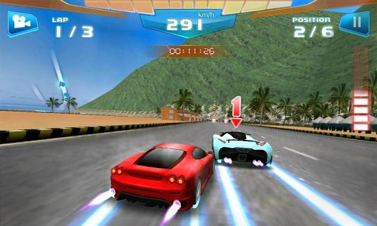 Fast Racing 3d screenshot 2