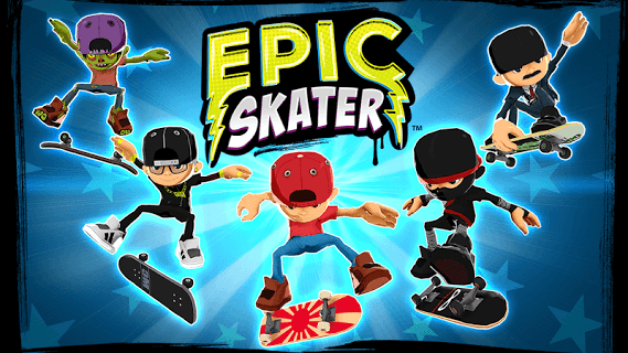 Epic Skater screenshot 1
