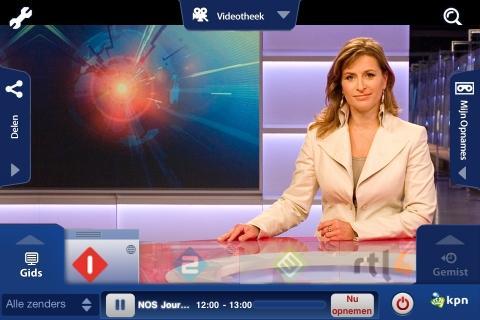 KPN Interactieve TV screenshot 1